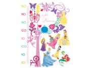 Samolepicí dekorace Princezny metr DK-0893, 85x65 cm Dětské samolepky na zeď
