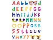 Samolepicí dekorace Mickey abeceda DK-0895, 85x65 cm Dětské samolepky na zeď
