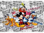 Fototapeta AG Mickey Mouse FTDNXXL-5056 | 360x270 cm Fototapety pro děti