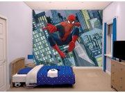 3D fototapeta Walltastic Spiderman 43824 | 305x244 cm Fototapety pro děti