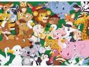 Fototapeta AG Zvířátka FTM2669 | 160x110 cm Fototapety pro děti