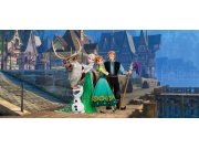 Vliesová fototapeta Ledové Království FTDNH-5365 | 202x90 cm Fototapety pro děti