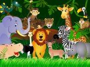Fototapeta AG Zvířátka FTNS-2440 | 360x270 cm Fototapety pro děti