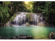 Fototapeta AG Vodopád v lese FTNS-2451 | 360x270 cm Fototapety vliesové