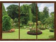 Fototapeta AG Japonská zahrada FTNS-2456 | 360x270 cm Fototapety vliesové