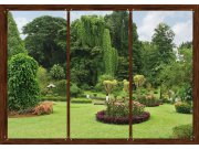 Fototapeta AG Japonská zahrada FTNS-2456 | 360x270 cm Fototapety vliesové - Vliesové fototapety AG