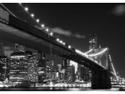 Vliesová fototapeta Brooklyn bridge FTNS-2469, rozměry 360 x 270 cm Fototapety vliesové - Vliesové fototapety AG
