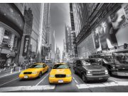 Fototapeta AG Manhattan cars FTNS-2474 | 360x270 cm Fototapety vliesové