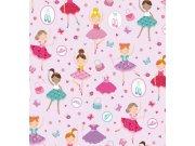 Samolepící folie Růžová tanečnice 200-3224 d-c-fix, šíře 45 cm Samolepící folie Stylové