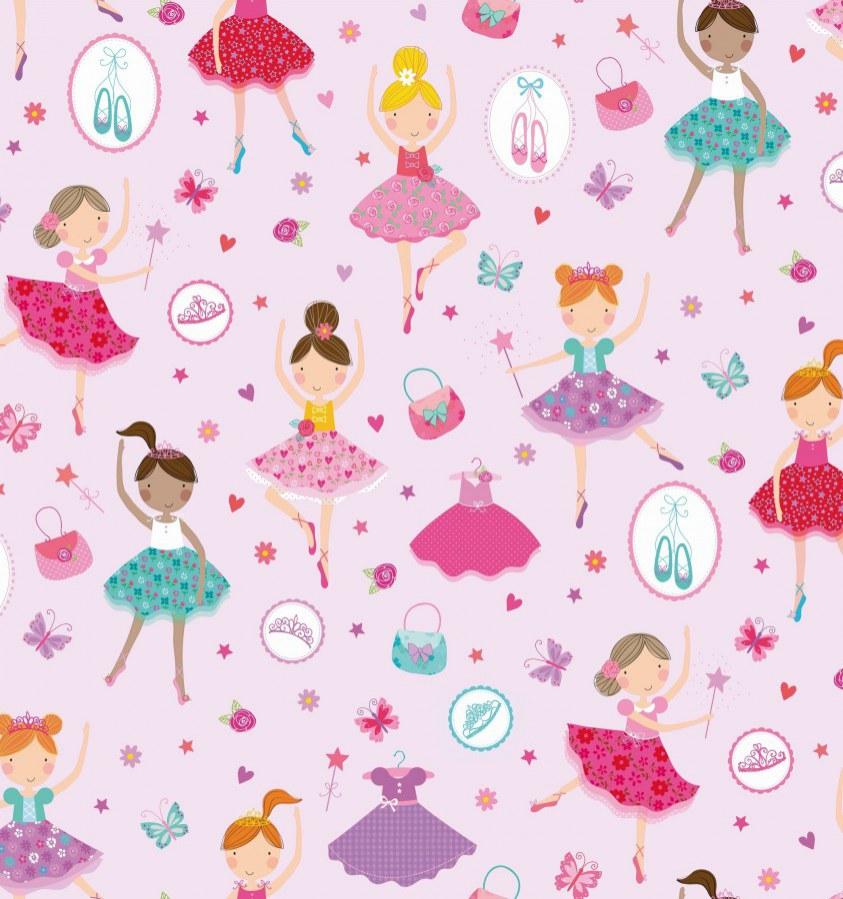 Samolepící folie Růžová tanečnice 200-3224 d-c-fix, šíře 45 cm - Samolepící folie Stylové