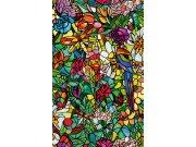 Samolepící folie Transparentní Vitráž 200-3231 d-c-fix, šíře 45 cm Samolepící fólie Transparentní