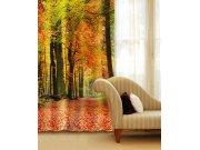 Závěs Podzimní les CU-140-009, 140x245 cm Závěsy