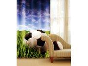 Závěs Fotbalový míč CU-140-027, 140x245 cm Závěsy