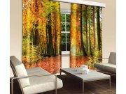 Závěs Podzimní les CU-280-009, 280x245 cm Závěsy