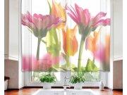 Záclona Spring Flowers VO-140-010, 140x120 cm Záclony