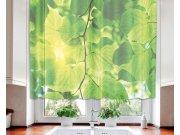 Záclona Green Leaves VO-140-016, 140x120 cm Záclony