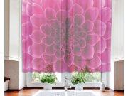 Záclona Pink Dahlia VO-140-017, 140x120 cm Záclony