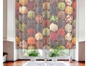 Záclona Spice Bowls VO-140-024, 140x120 cm Záclony