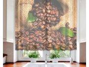 Záclona Coffee Beans VO-140-025, 140x120 cm Záclony