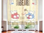 Záclona Teddy Bears VO-140-029, 140x120 cm Záclony