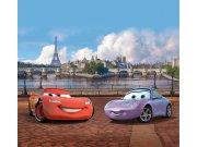 Foto závěsy Cars v Paříži FCPXXL-6025, 280 x 245 cm Závěsy
