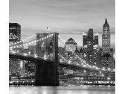 Foto závěs Ranní Brooklyn FCPXXL-7416, 280 x 245 cm Závěsy