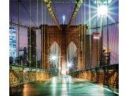 Foto závěs Most v noci FCSXL-4817, 180 x 160 cm Závěsy