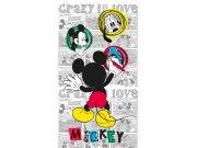 Fotozávěs Mickey Mouse FCSL-7142, 140 x 245 cm Závěsy do dětského pokoje