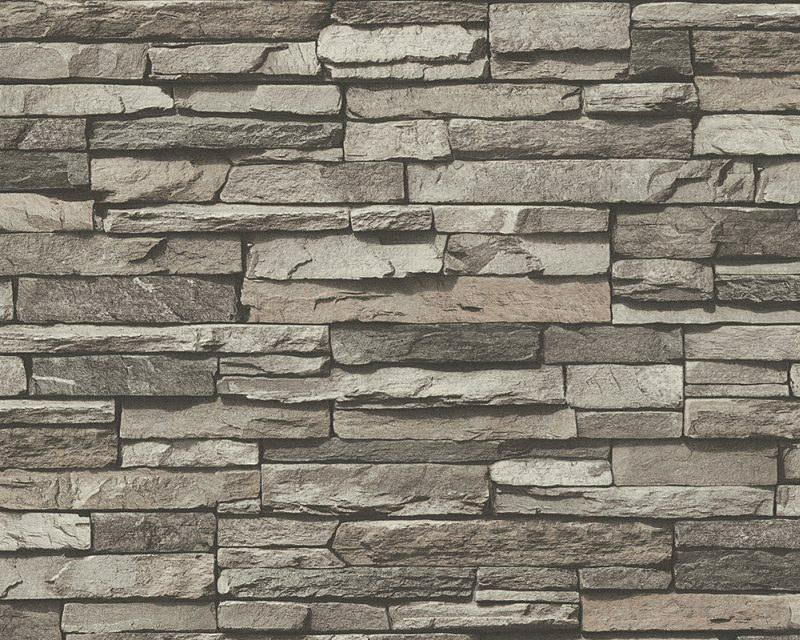 Vliesové tapeta Kamenná zeď - Výprodej