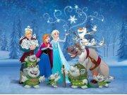 Dětská vliesová fototapeta Frozen FTDNXXL5019 | rozměry 360 x 270 cm Fototapety pro děti - Fototapety pro děti vliesové - Fototapety dětské vliesové AG