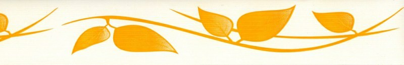 Samolepící bordura Žluté listy SB02-409, rozměry 5 cm x 10 m - Samolepící bordury