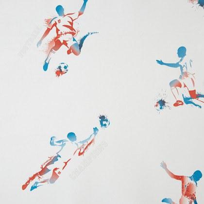 Tapeta na zeď Only Boys Fotbalista 64848088 | 0,53 x 10 m - Výprodej