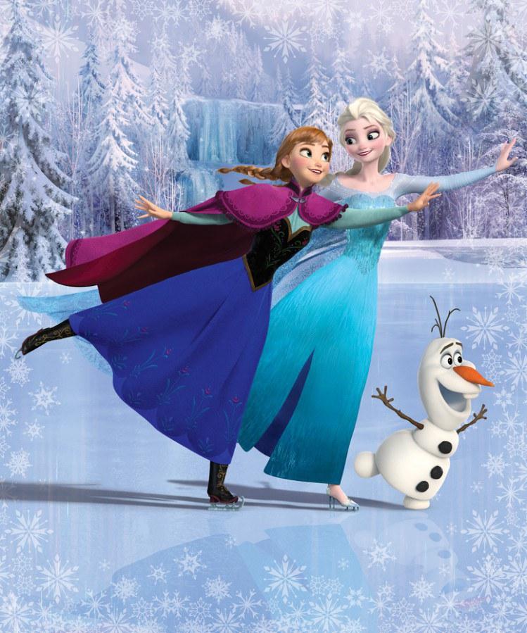 3D fototapeta Walltastic Frozen 43909 | 203x243cm - Fototapety pro děti