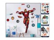Samolepicí dekorace Walltastic Iron Man 44296 Dětské samolepky na zeď