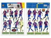 Samolepicí dekorace FC Barcelona team BAR17 Dětské samolepky na zeď