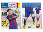 Samolepicí dekorace FC Barcelona Messi BAR30 Dětské samolepky na zeď