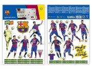 Samolepicí dekorace FC Barcelona team BAR35 Dětské samolepky na zeď