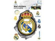 Samolepicí dekorace Real Madrid znak RM32 Dětské samolepky na zeď