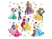 Samolepicí dekorace Tančící Princezny DKS-1081, 30x30 cm Dětské samolepky na zeď