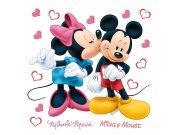 Samolepicí dekorace Minnie a Mickey DKS-1085, 30x30 cm Dětské samolepky na zeď
