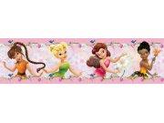 Samolepicí bordura Fairies WBD8062 Dětské samolepicí bordury
