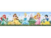 Samolepicí bordura Princezny WBD8082 Dětské samolepicí bordury