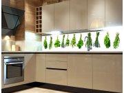 Samolepicí fototapeta do kuchyně Herbs KI-180-007, 180x60 cm Fototapety skladem