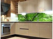 Fototapeta do kuchyně Koruny stromů KI-260-046, 260x60 cm Samolepící fototapety
