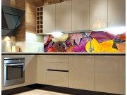 Fototapeta do kuchyně Podzimní listí KI-260-047, 260x60 cm Samolepící fototapety