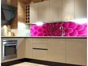 Fototapeta do kuchyně Růžová jiřina KI-260-049, 260x60 cm Samolepící fototapety