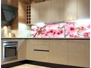 Fototapeta do kuchyně Květy jabloní KI-260-054, 260x60 cm Samolepící fototapety