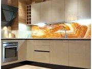 Fototapeta do kuchyně Achát KI-260-066, 260x60 cm Samolepící fototapety