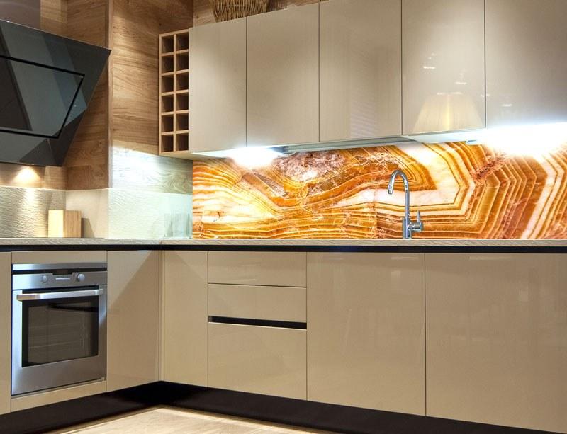 Fototapeta do kuchyně Achát KI-260-066, 260x60 cm - Samolepící fototapety