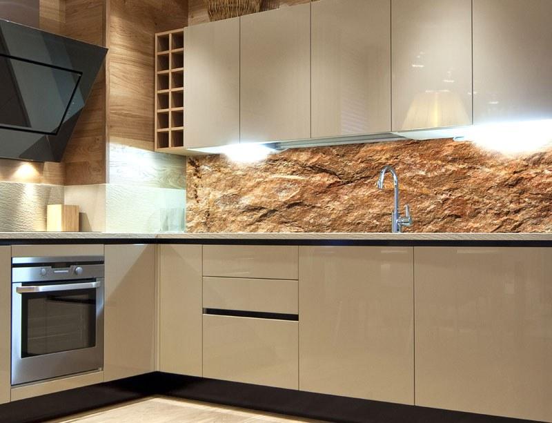 Fototapeta do kuchyně Mramor KI-260-067, 260x60 cm - Samolepící fototapety